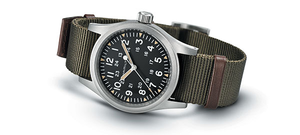 The Hamilton Khaki Field Collection