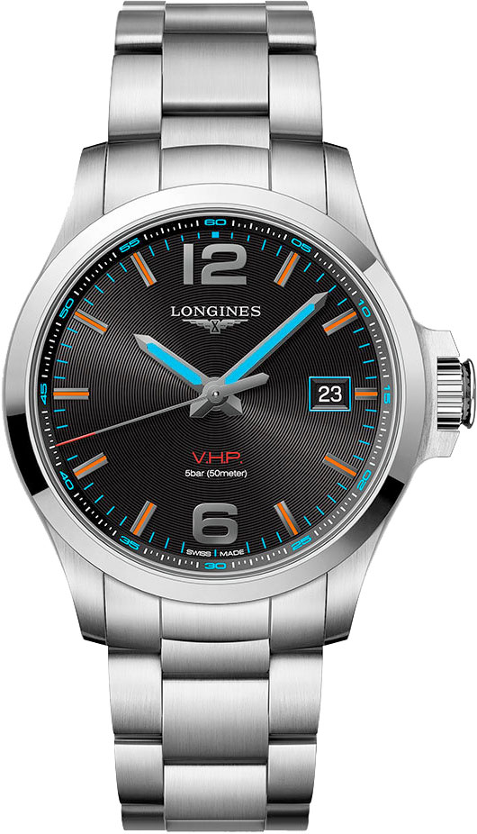 Longines Conquest V.H.P Commonwealth Games Men's Watch
