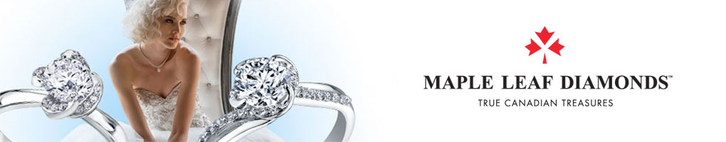 Maple Leaf Diamonds Wind Embrace Rings