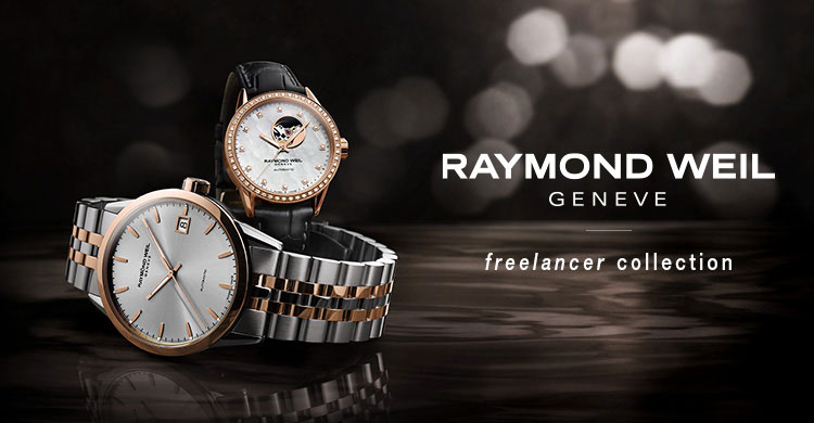 Raymond Weil Freelancer Watches