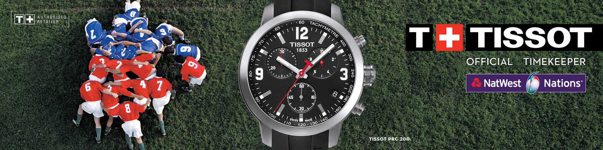 Tissot | Official Timekeeper of The 6 Nations
