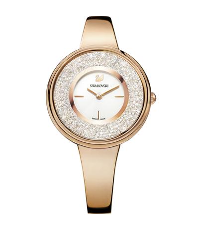 Swarovski Crystalline Pure Rose Gold Tone Ladies Watch