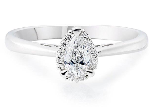 Bohemian Diamond Engagement Rings