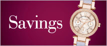 Designer Jewellery & Watch Savings