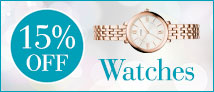 15% Off Watches