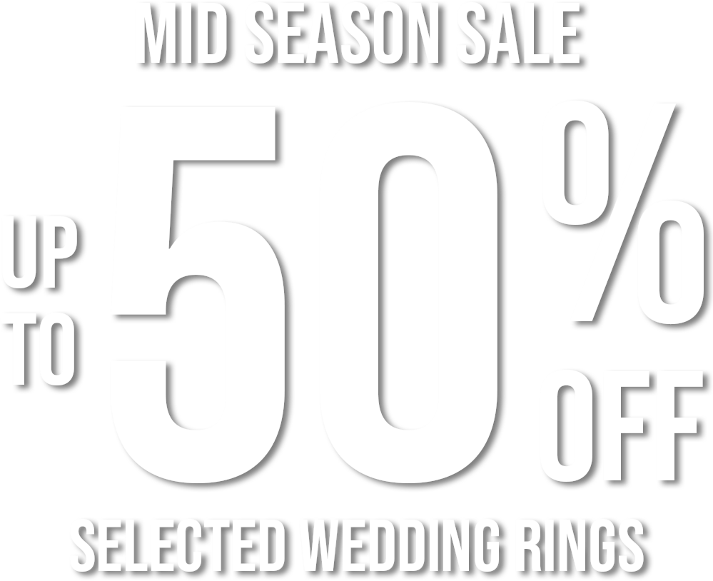 Up To 30% Off Wedding Rings
