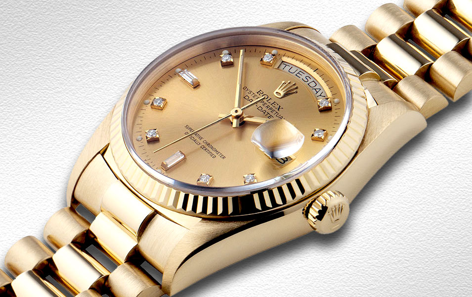 Rolex Day-Date Gold Automatic Men's Watch