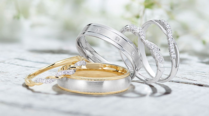 Wedding rings wedding bands beaverbrooks the jewellers for Buying wedding rings