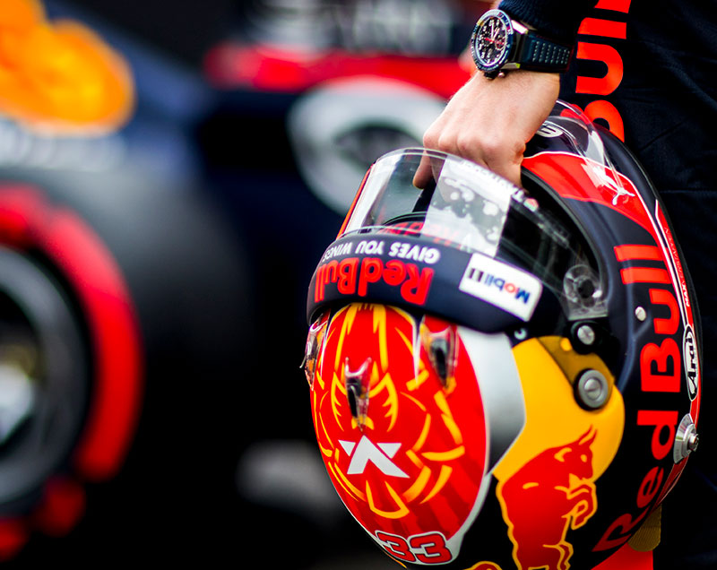 TAG Heuer & Red Bull Racing