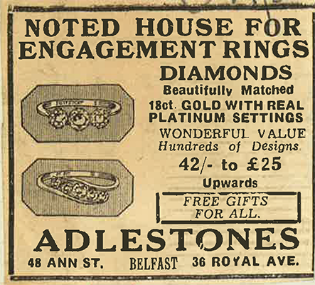 Adlestone Paper Advert