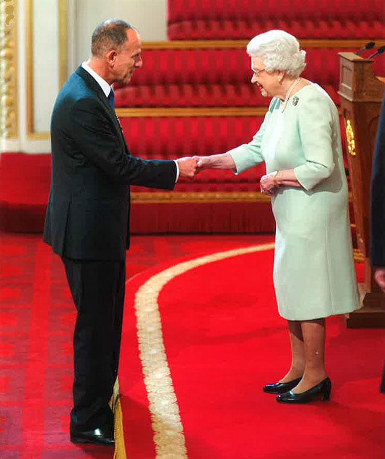 Mark Adlestone OBE