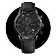 Hugo Boss Ion Plated Chronograph Men's Watch