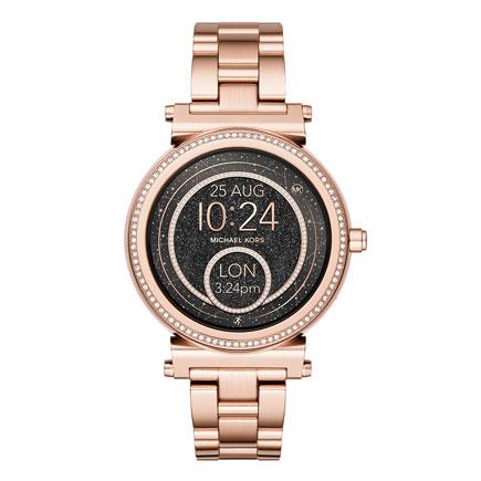 Michael Kors Access Sofie Rose Gold Tone Ladies Smartwatch