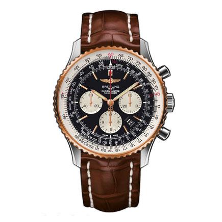 Breitling Navitimer 01 18ct Rose Gold Men's Watch