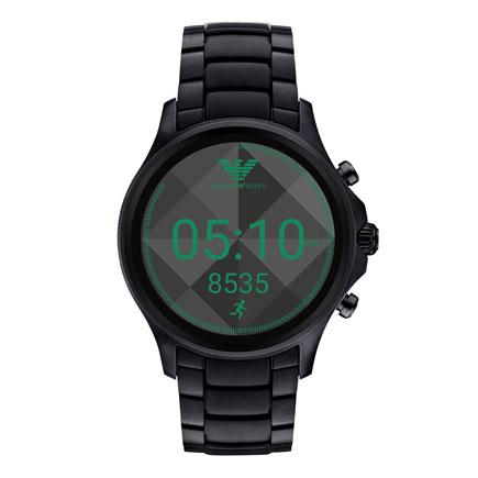Emporio Armani Connected Black Men's Smartwatch