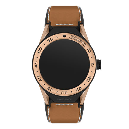 TAG Heuer Connected Modular 45 Titanium and 18ct Rose Gold Plated Smartwatch