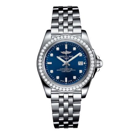 Breitling Galactic 32 Sleek Diamond Ladies Watch