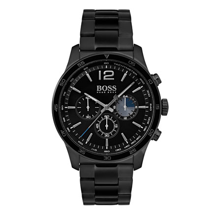 Hugo Boss Black Ion Plated Chronograph Men's Watch