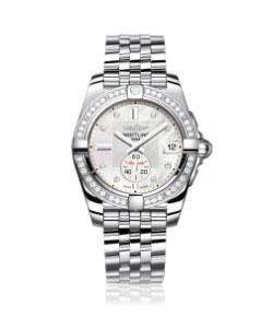 Breitling Galactic 36 Automatic Diamond Ladies Watch