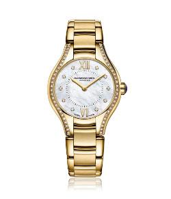 Raymond Weil Noemia Gold Plated Diamond Ladies Watch