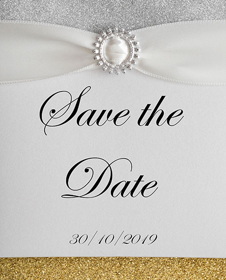 Statement Sparkle Invitations