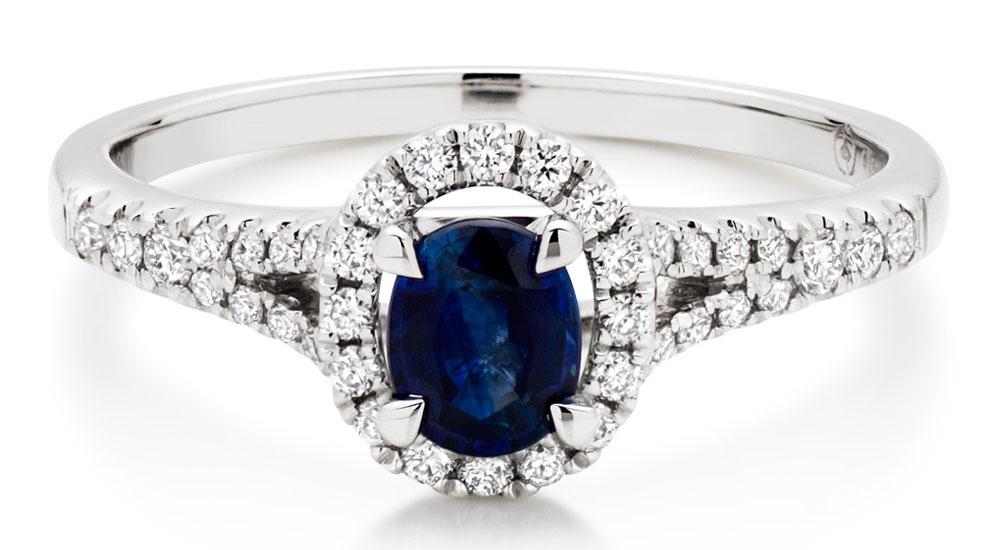 Coloured Gemstone & Diamond Rings