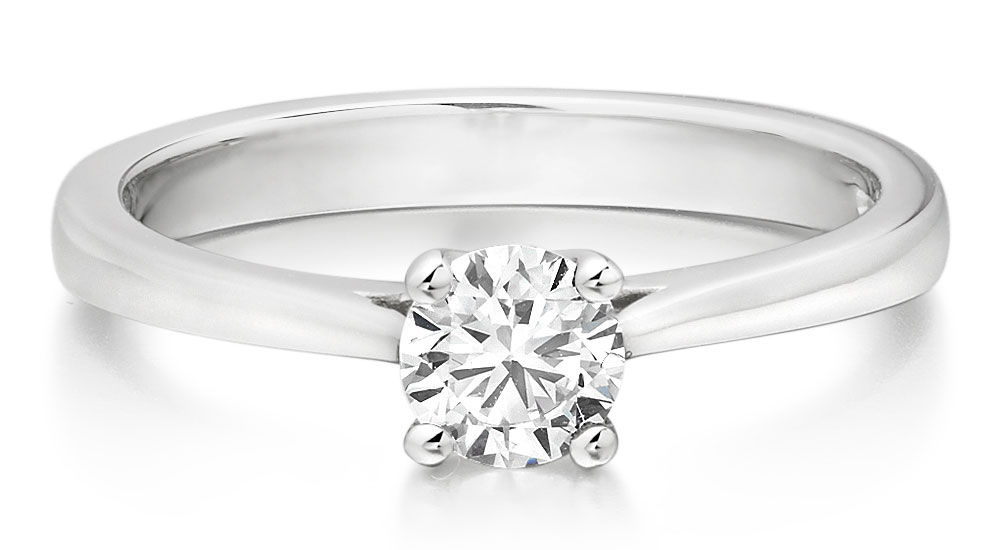 Round Brilliant Diamond Rings