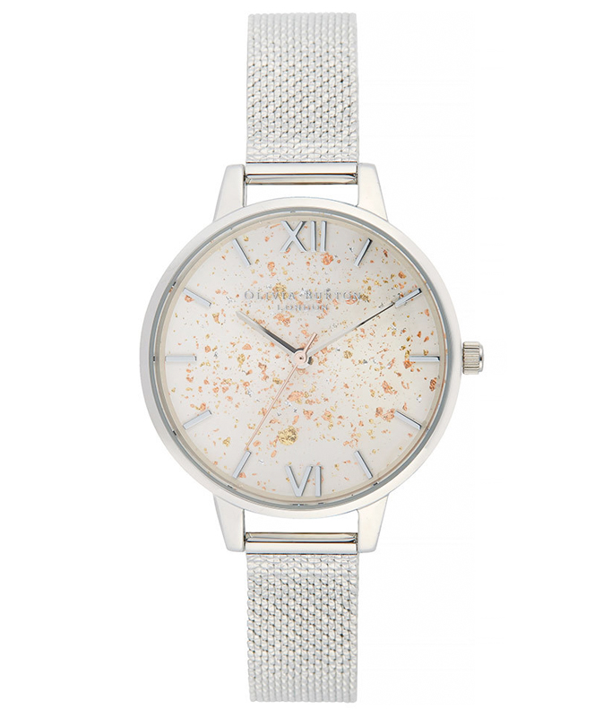 Olivia Burton Celestial Mesh Ladies Watch