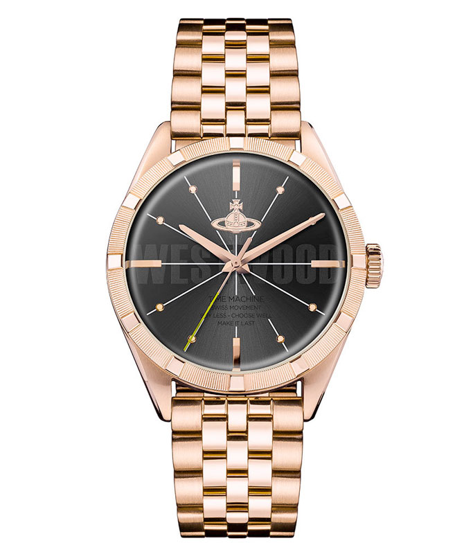 Vivienne Westwood Rose Gold Tone Men's Watch