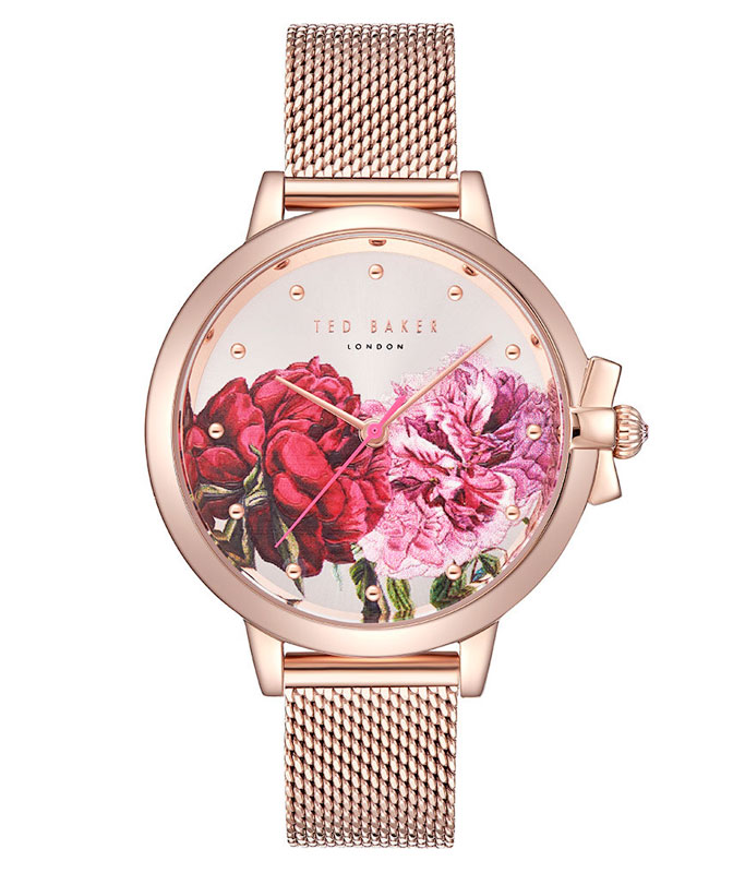 Ted Baker Ruth Rose Gold Tone Mesh Ladies Watch