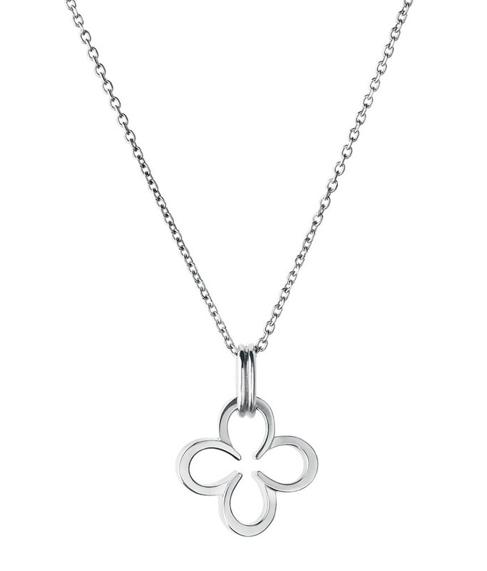 Links of London Ascot Clover Silver Necklace