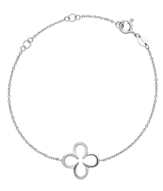 Links of London Ascot Clover Silver Bracelet