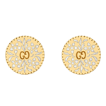 Gucci Icon 18ct Gold Stud EarringsGucci Icon 18ct Gold Stud Earrings