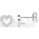 Thomas Sabo Glam & Soul Silver Cubic Zirconia Heart Earrings