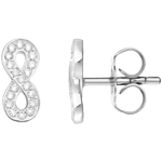 Thomas Sabo Glam & Soul Silver Infinity of Love Cubic Zirconia Earrings
