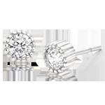 Silver Cubic Zirconia Stud EarringsSilver Cubic Zirconia Stud Earrings