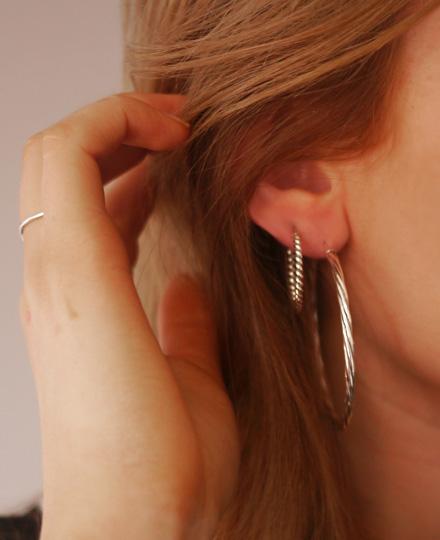 Beaverbrooks Hoop Earrings