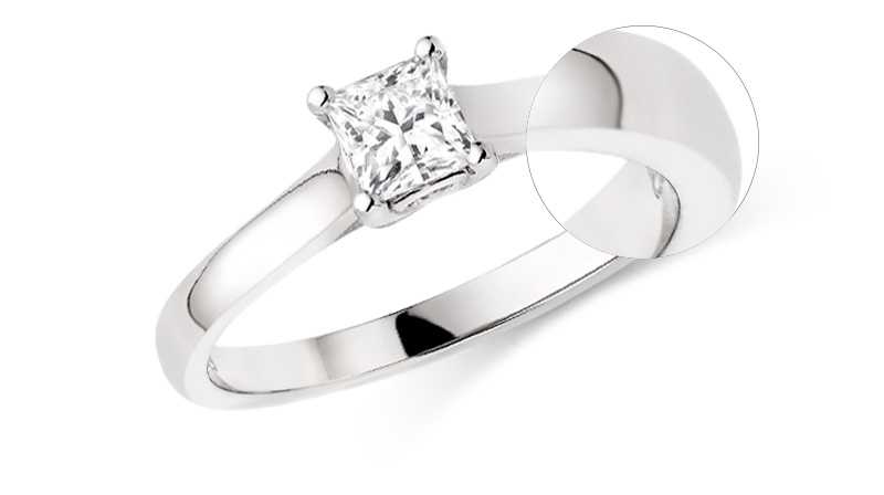 9ct or 18ct Engagement Rings