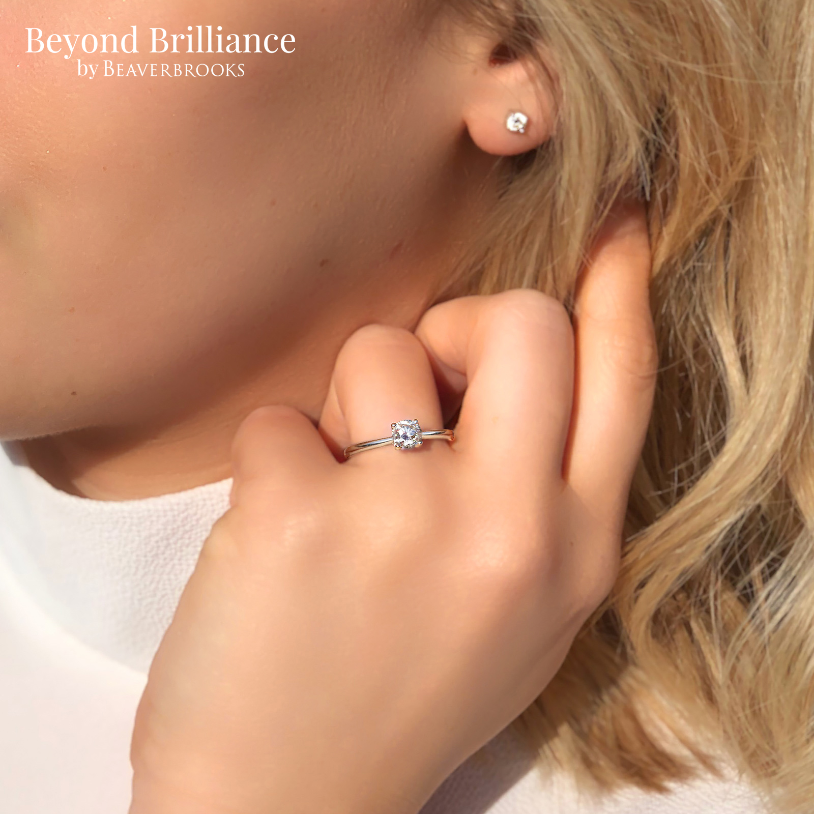 Beyond Brilliance 18ct White Gold Diamond Solitaire Ring