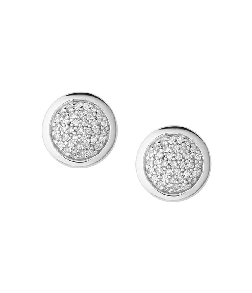 Links of London Diamond Essentials Silver Stud Earrings