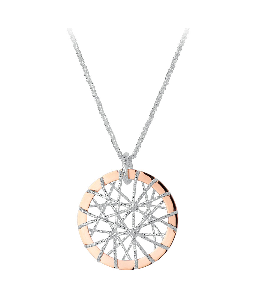 Links of London Rose Gold Mini Dream Catcher Pendant