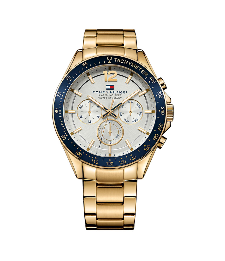 Tommy Hilfiger Luke Gold Tone Chronograph Men's Watch