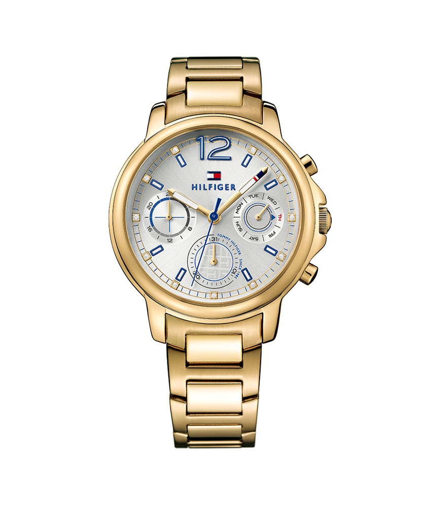 Tommy Hilfiger Claudia Gold Tone Ladies Watch