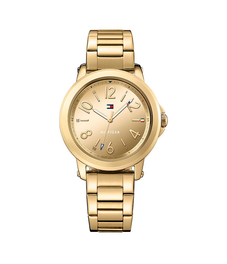 Tommy Hilfiger Ellie Gold Tone Ladies Watch