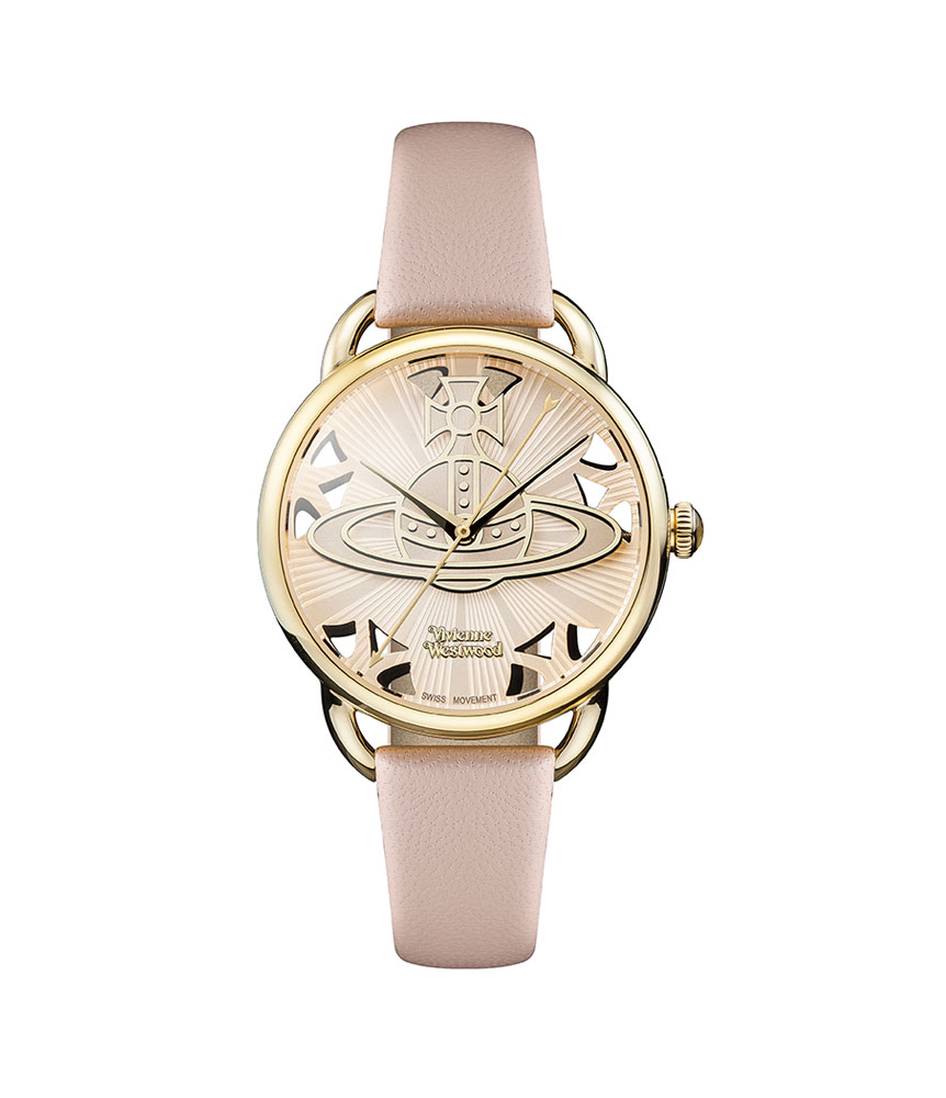 Vivienne Westwood Leadenhall Gold Tone Ladies Watch