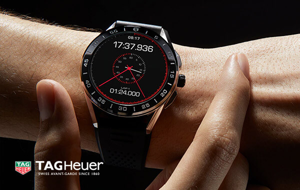 TAG Heuer Connected 2020 Steel and PVD Ceramic Rubber Smartwatch