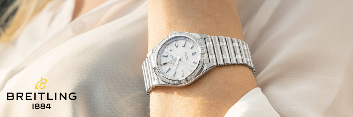 Breitling Chronomat Automatic Diamond Ladies Watch