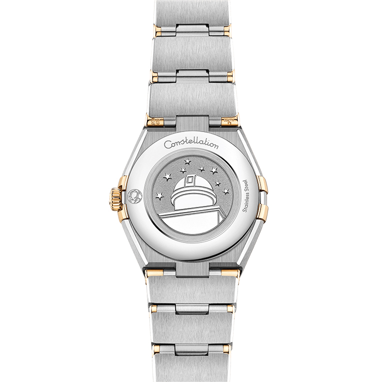 OMEGA Constellation Manhattan Gold and Stainless Steel Diamond Master Chronometer Automatic Ladies Watch