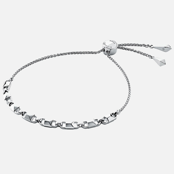 Michael Kors Mercer Link Silver Slider Bracelet