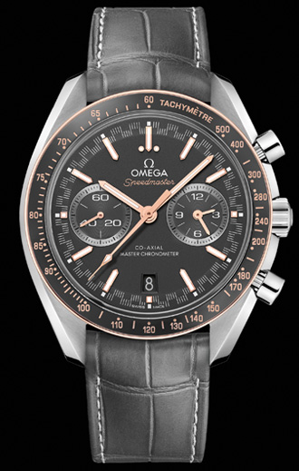 Omega Speedmaster Racing Sedna Co-Axial Automatic Chronograph Men's Watch
